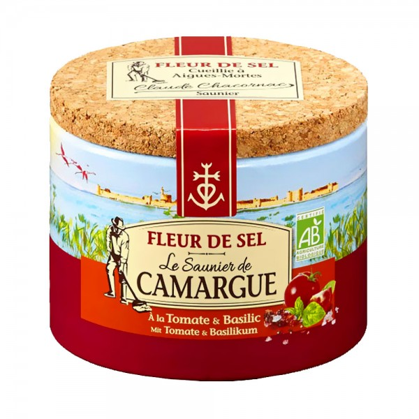 Le Saunier de Camargue Fleur de Sel Bio Tomate