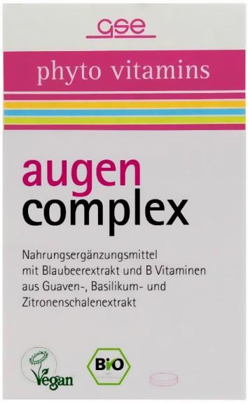 GSE Bio Augen complex Tabletten