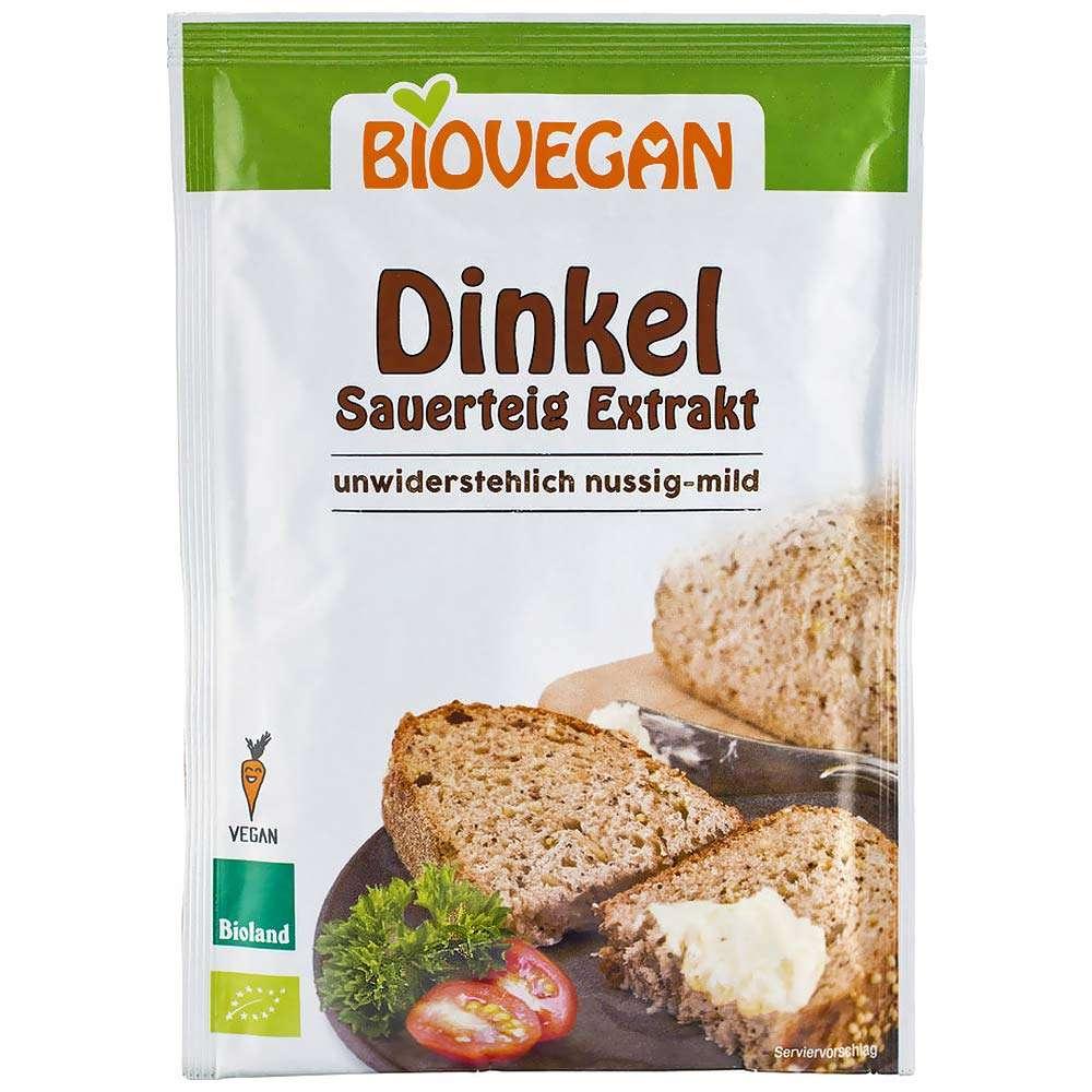 Biovegan Bio Dinkel Sauerteig Extrakt   Veganhaus