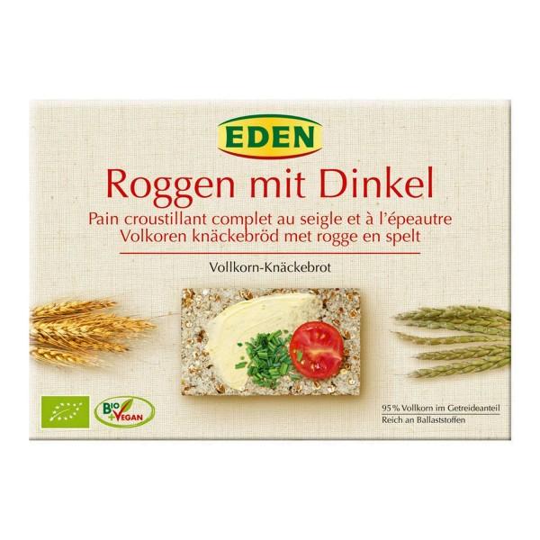 Eden Bio Roggen Dinkel Vollkorn Knäckebrot