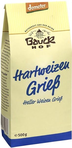 Bauckhof Bio Hartweizen Grieß