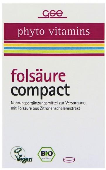 GSE Bio Folsäure Tabletten
