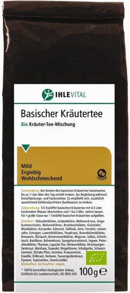 Ihlevital Basischer Kräutertee Bio
