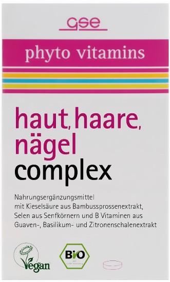 GSE Bio Haut Haare Nägel complex Tabletten