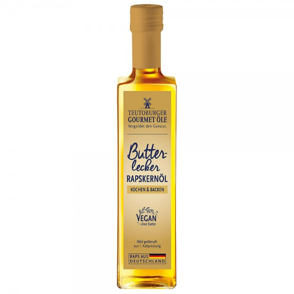 Teutoburger Ölmühle Rapskernöl Butterlecker