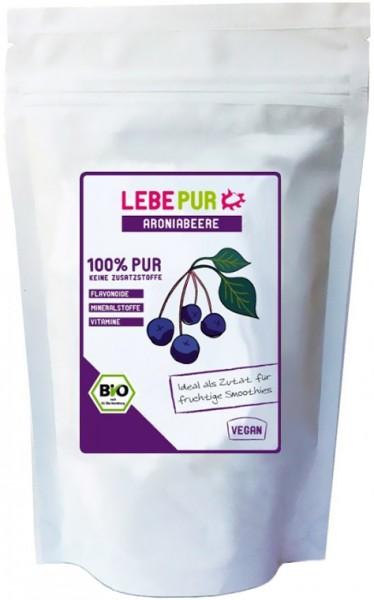 LebePur Bio Smoothie Pulver Aronia