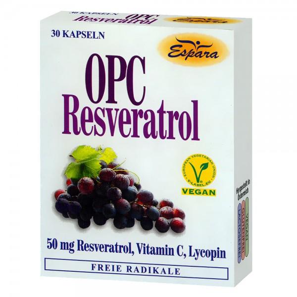 Espara OPC Resveratol Kapseln