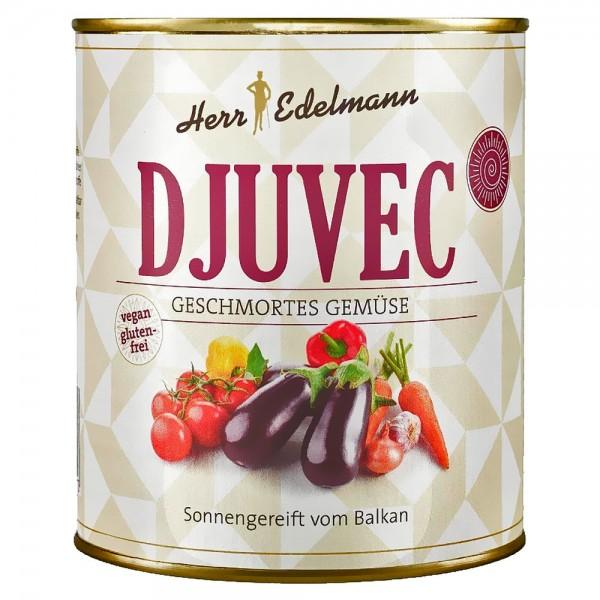 Herr Edelmann Djuvec Gemüse geschmort