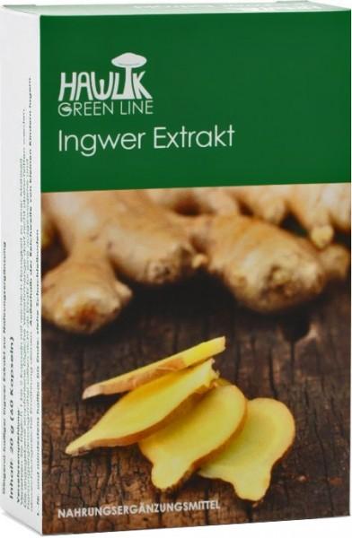 Hawlik Green Line Ingwer Extrakt Kapseln