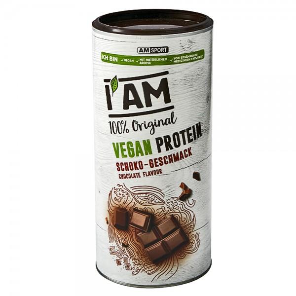 I AM Sport Vegan Protein schoko