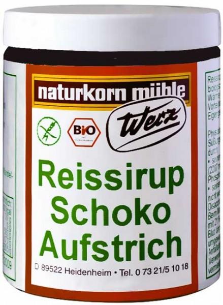 Werz Bio Reissirup-Schoko-Aufstrich glutenfrei