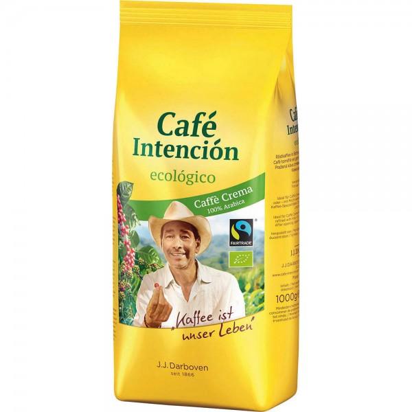 Darboven Café Crema Bio Fairtrade ganze Bohne