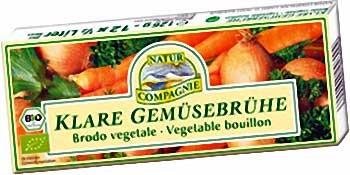 Natur Compagnie Bio Klare Gemüsebrühe Würfel