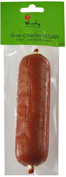 Topas Wheaty Bio Gran Chorizo vegan