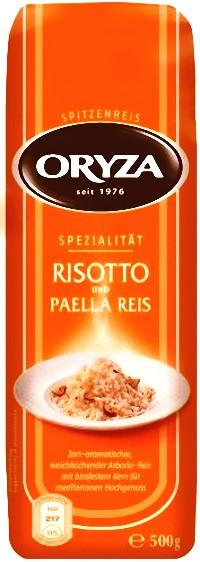 Oryza Risotto und Paella Reis