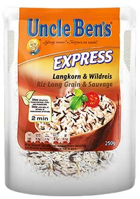 Uncle Ben's Express Langkorn- & Wildreis
